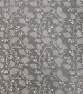 Home Decor 8\u0022x8\u0022 Fabric Swatch-Print Fabric SMC Designs Saddle Silver