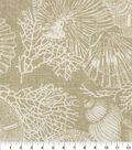 Solarium Outdoor Decor Fabric 54\u0027\u0027-Natural Elijah