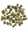 Darice Big Value-Antique Gold Beads 48/PK
