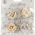Prima Marketing Mulberry Paper Flowers -Sand Dunes/Pale Pretty
