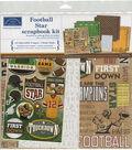 Karen Foster Scrapbook Page Kit 12\u0022X12\u0022-Football Star