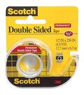Scotch Permanent Double-Sided Tape-.5\u0022x250\u0022