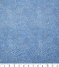 Keepsake Calico Cotton Fabric 43\u0022-Metallic Vines Blue