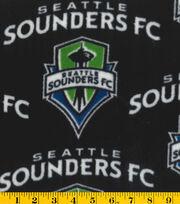 Seattle Sounders Fleece Fabric -Logo, , hi-res