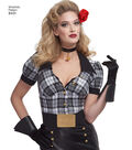 Simplicity Pattern 8431 Misses\u0027 Costume-Size H5 (6-8-10-12-14)