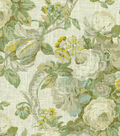 Waverly Lightweight Decor Fabric 54\u0022-Spring Bling/Cir/Platinum