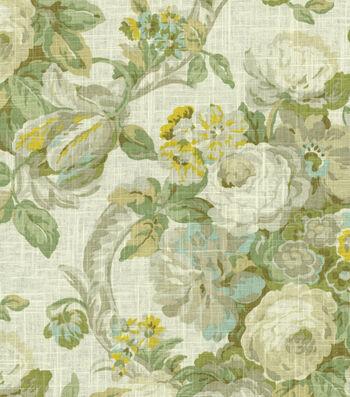 "Waverly Lightweight Decor Fabric 54""-Spring Bling/Cir/Platinum"