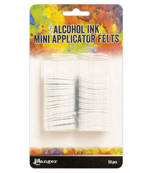 Tim Holtz Alcohol Ink Mini Applicator Tool Replacement Felt-50/Pkg