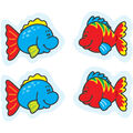 Carson Dellosa Fish Stickers 12 Packs