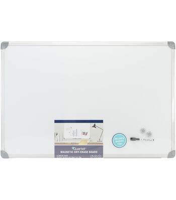 "Magnetic Dry Erase Board w/Euro Frame 36""X24""-Brushed Aluminum Frame"