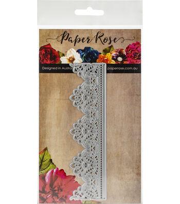 Paper Rose 5.90''x1.5'' Metal Die-Madison Lace Edge