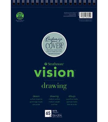 "Strathmore 9""x12"" Vision Drawing Pad"