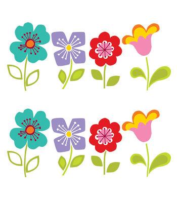 Wall Pops Petals Room Decor Wall Decal Kit, 24 Piece Set