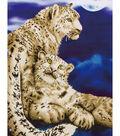 Diamond Embroidery Facet Art Kit 34.2\u0022X22.7\u0022-Snow Leopards