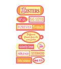 Sandylion Dimensional Stickers-Sisters