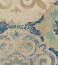Waverly Multi-Purpose Decor Fabric 54\u0027\u0027-Indigo Captivated