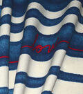 ED Ellen Degeneres Upholstery Fabric 27\u0027\u0027-Love on Denim Stripe