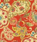 P/K Lifestyles Upholstery Fabric-Artist Colony Chili