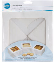 Wilton Large Treat Box-White, , hi-res