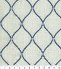 Williamsburg Multi-Purpose Decor Fabric 54\u0027\u0027-Porcelain Deane Embroidery