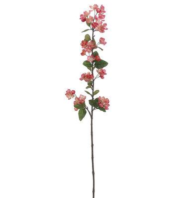 """Bloom Room 42"""" Apple Blossom Spray-Pink"""