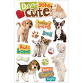 Dog Gone -3d Stickers