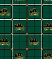 "Baylor University Bears Flannel Fabric 42""-Plaid, , hi-res"