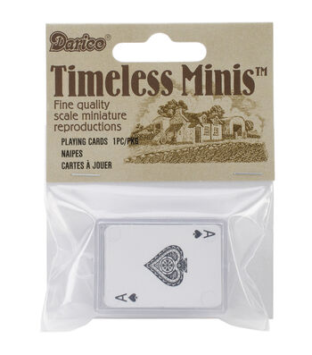 Timeless Miniatures-Playing Cards