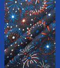 Holiday Cotton Fabric 57\u0027\u0027-Fireworks
