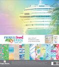 Paper House Paper Crafting Kit 12\u0022X12\u0022-Paradise Found Cruise