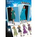 Simplicity Pattern 1585D5 4-6-8-10-1-Misses Dresses