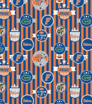 University of Florida Gators Terry Velour Fabric -Logo, , hi-res