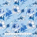 Home Essentials Decor Fabric-In Bloom Sky