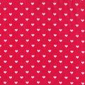 Valentine\u0027s Day Glitter Fabric 43\u0027\u0027-Red with Pink Hearts