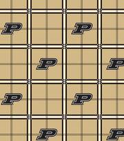 "Purdue University Boilmakers Flannel Fabric 42""-Plaid, , hi-res"
