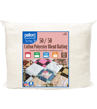 Pellon 50/50 Cotton Poly Blend Batting-King