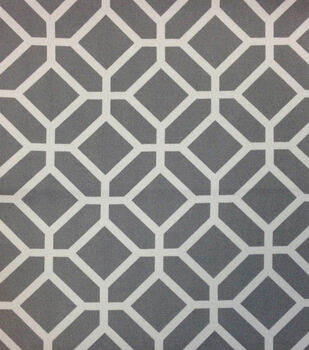 """Outdoor Fabric 54""""-Stained Glass Grey"""