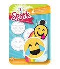 Spark Plaster Magnet Kit-Goofy Emoji