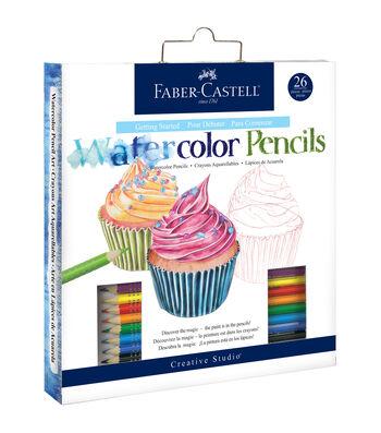 Creative Studio Getting Started Art Kit-Watercolor Pencil