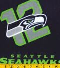 Seattle Seahawks Fleece Fabric 58\u0022-Logo