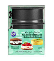 Wilton Mini Springform Pan Set, 3-Piece, , hi-res
