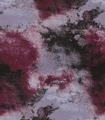 "Premium Wide Cotton Fabric 108""-Gradiated Hue Burgundy"