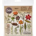Sizzix Tim Holtz Thinlits 15 pk Dies-Funky Floral #2