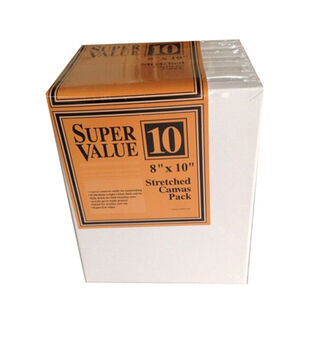 """Stretched Canvas Super Value Pack 8""""x10"""""""