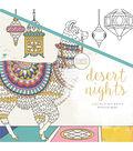 KaiserColour Perfect Bound Coloring Book 9.75\u0022X9.75\u0022-Desert Nights