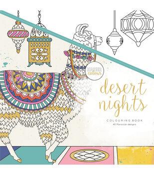 "KaiserColour Perfect Bound Coloring Book 9.75""X9.75""-Desert Nights"