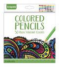 Crayola Colored Pencil Set 50/Pkg