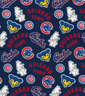 Cooperstown Chicago Cubs Cotton Fabric 44\u0027\u0027