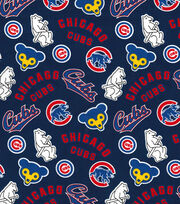 Cooperstown Chicago Cubs Cotton Fabric, , hi-res