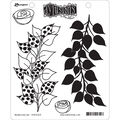 Ranger Dyan Reaveley\u0027s Dylusions Cling Stamps-Branching Out